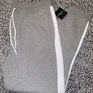 Gray Sweatpant Joggers Forever 21